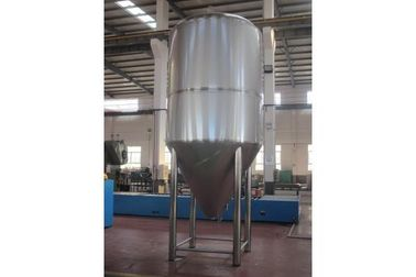 China Argon Arc Weld Stainless Steel Beer Container , Conical Fermentation Tank supplier
