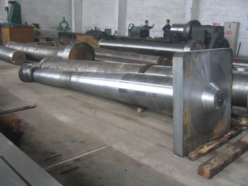 China Marine Propeller Shaft Forged Ship / Boat Rudder Stock Alloy Steel Material supplier