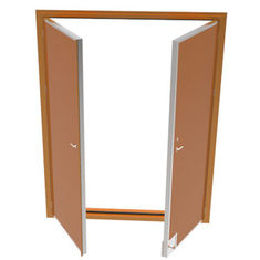China Marine Cabin Accommodation Access Doors , Stainless Steel Gastight H120 Fire Proof supplier