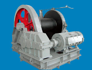 China Single Drum Electric Winch Marine Deck Machinery for Lift , Pull , Rotate supplier