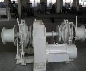 China Boating Marine Deck Equipment Symmetrical El-Combined Windlass Mooring Winch supplier