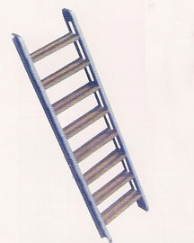 China Aluminum Boarding Ladder Swimming Pool Inclined Ladder 50kgs Max. Load supplier