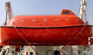 China Sailing Safety Marine Life Saving Equipment Enclosed Life Boat And Rescue Boat supplier