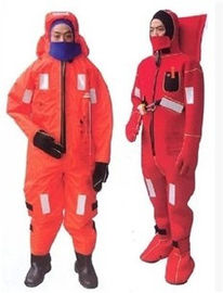 China Rescue Marine Life Saving Equipment At Sea , Adult Life Jackets Warming Suit supplier