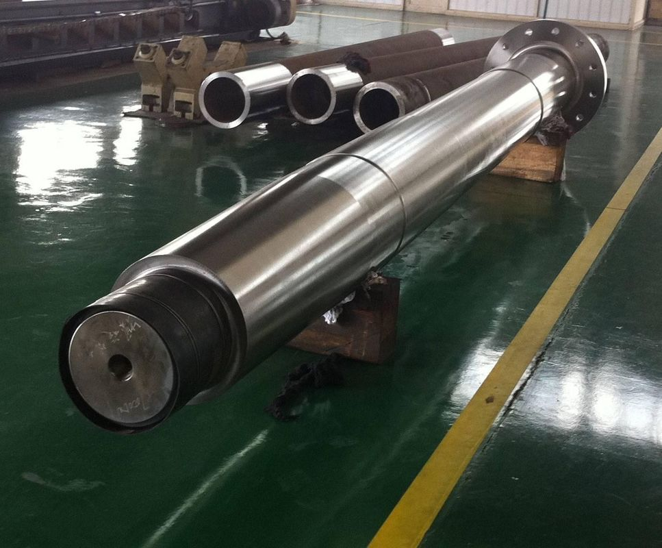 Spline And Nickel Marine Propeller Shaft Forged Steel ODM OEM Aproved
