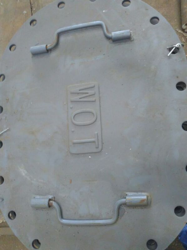 Marine Steel Boat Manhole Covers Marine Flush Type Boat