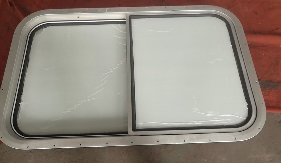 Aluminum Frame Marine Windows , Sliding Type Marine Ship Windows