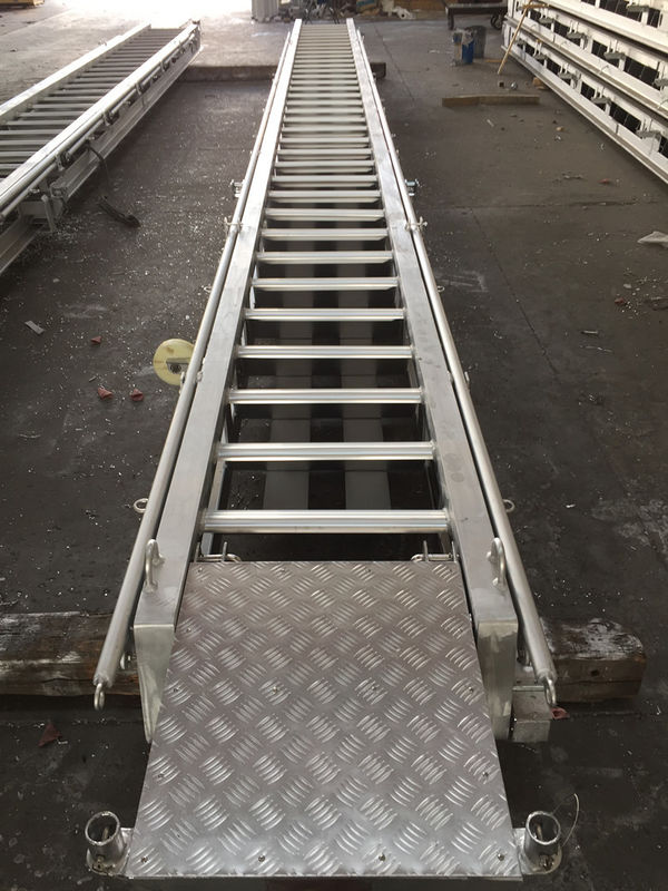 Stainless steel boat ladder LR Approval Marine Aluminum Alloy Fixed