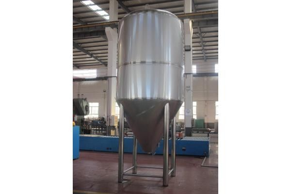 Argon Arc Weld Stainless Steel Beer Container Conical