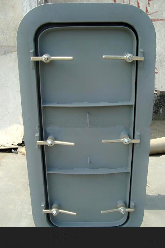 Marine Steel Weathertight Doors Customized Singe Leaf