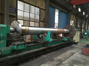 China Material A Class Steel Marine Propeller Shaft & Sleeve For Sea going Ships distributor