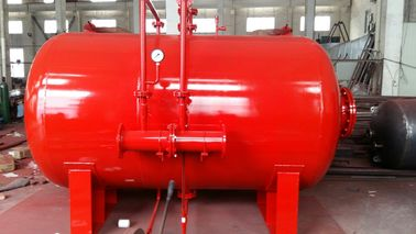China Carbon Steel 10 Ton Foam Bladder Pressure Vessel Tank Horizontal Type factory