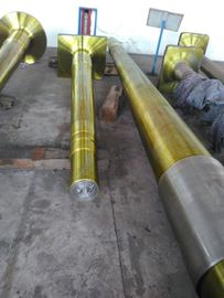 China Forged Steel Marine Propeller Shaft , Forging Rudder Shafts For Ships distributor