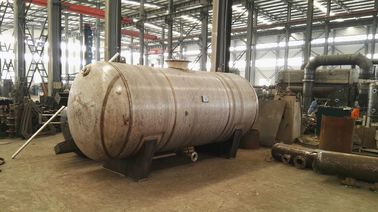 China Liquid / Air Storage Pressure Vessel Tank with Stainless Steel Carbon Steel factory