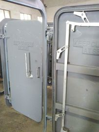 China Single Handle Quick Opening Marine Weathertight Ship Hatch Door / Boat Steel Door factory