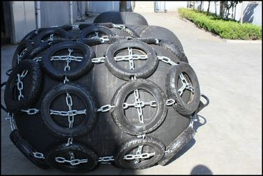China Marine Foam & Pneumatic Rubber Fender Yokohama Type Synthetic - Tire - Cord Layer distributor