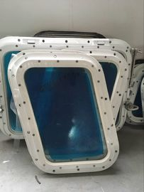 China Weathertight Aluminum Alloy Marine Windows Fixed Model 8 / 10 / 12 mm Thickness distributor