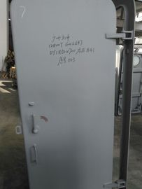 China Clips Opening Marine Doors Marine Steel Weathertight With Steel Single Handle factory