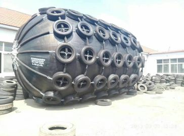 China Marine Inflatable Rubber Fender 4.5 Meters Diameter For Ship Alongside factory