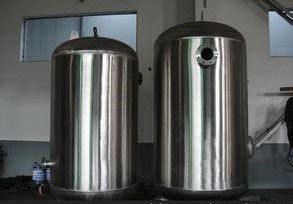 China Stainless Steel Pressure Vessel Tank , Customized Cast Iron Vacuum Tank distributor