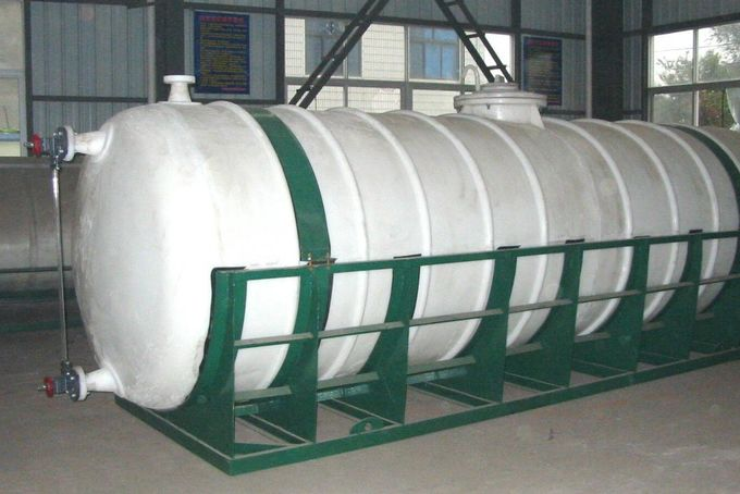 Stainless Steel Pressure Vessel Tank , Customized Cast Iron Vacuum Tank