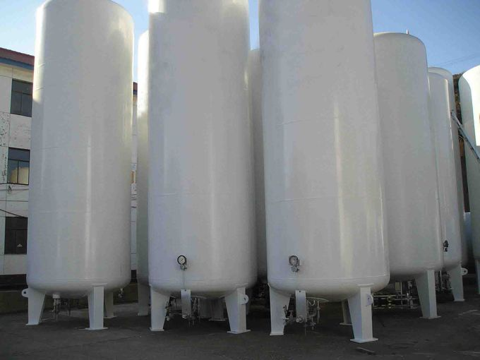 Low Temperature Pressure Vessel Tank, High Quality Horizontal Storage Tank