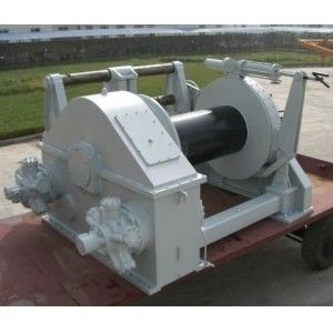 60 to 200T Electric or Hydraulic Anchor Handling Towing Winch For Ship
